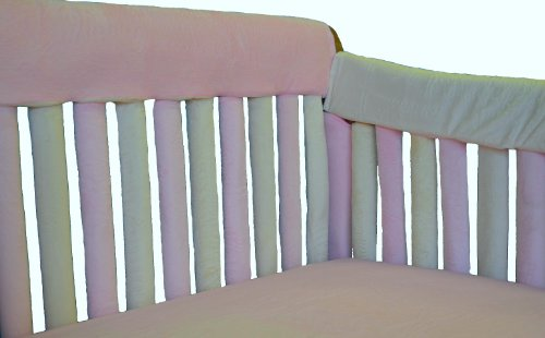 "Go Mama Go Designs Teething Guard, Pink/Cream, 52""X12"""