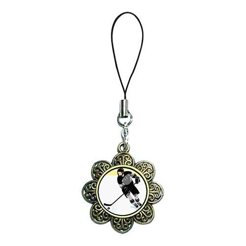 Chicforest Ancient Bronze Retro Style Little Boy Red Arrow Target Photo Sun Flower Strap Hanging Chain For Phone Cell Phone Charm Dust Plug-Earphone Jack Accessories, Cell Charms, Dust Plug, Ear Jack Universal 3.5Mm Anti Dust Earphone Jack Plug Cap For Ph