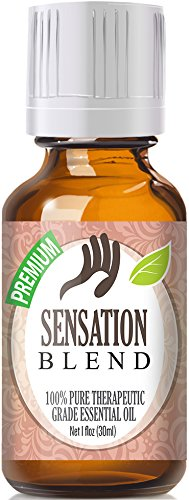 Sensation Blend 100% Pure, Best Therapeutic Grade Essential Oil - 30ml / 1 (oz) Ounce - Comparable to Young Livings Sensation - French Lavender, Ylang Ylang, Bergamot, Jasmine, Egyptian Geranium, Coriander