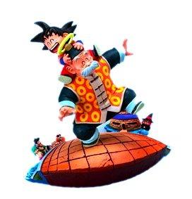 ドラゴンボールカプセル はじまりは四星球 ドラゴンボールメモリーズ 孫悟空&孫悟飯 彩色 BP付 単品