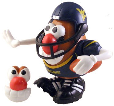 West Virginia Mr Potato Head