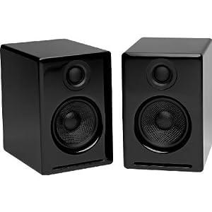 Audioengine A2 Premium Powered Desktop Speakers (Black)