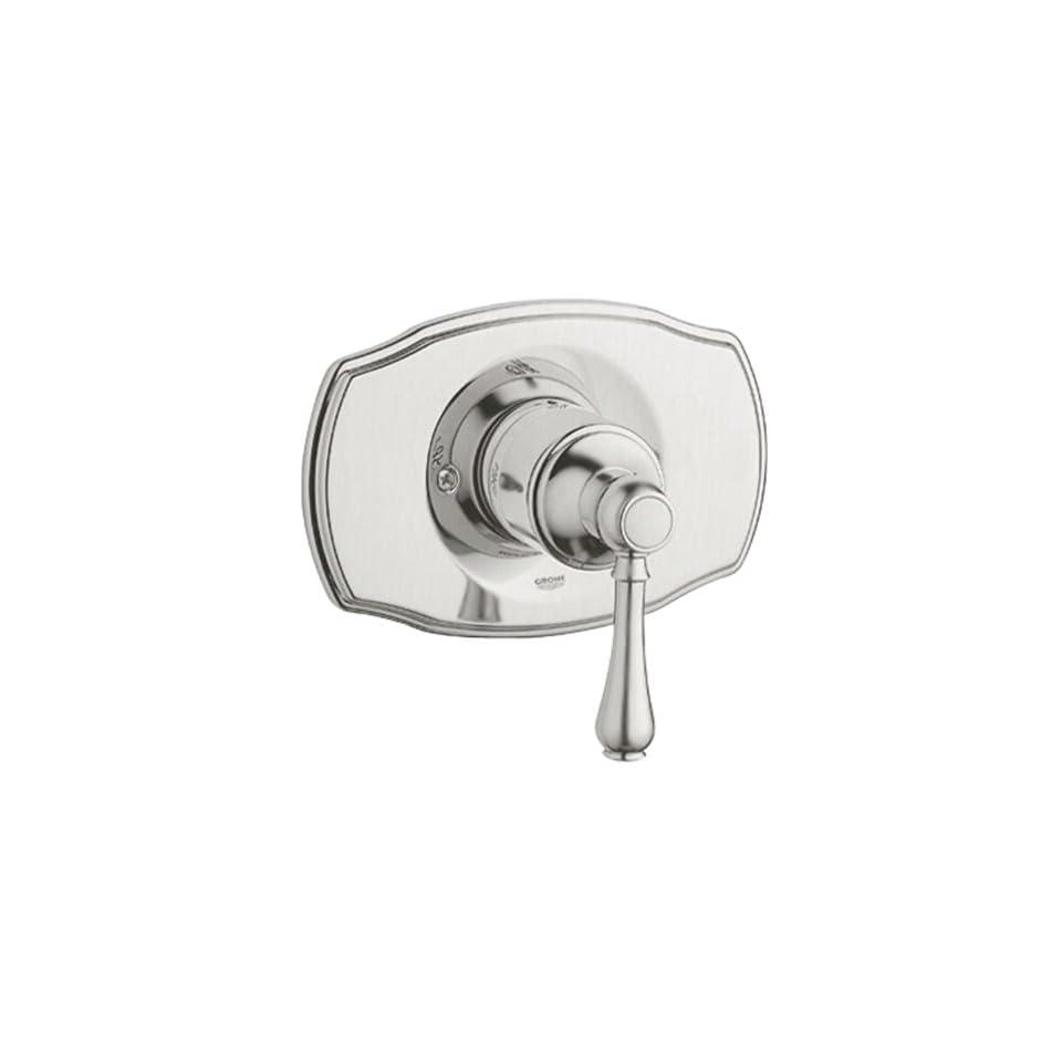 Grohe 19 722 EN0 Geneva Pressure Balance Valve Trim with Lever Handle, Infinity Brushed Nickel
