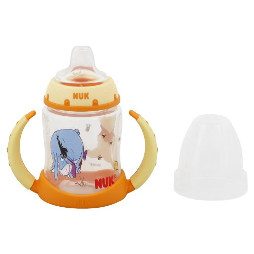 NUK Disney Winnie The Pooh Learner Cup with Silicone Spout, 5-Ounce