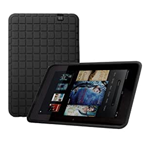 Poetic GraphGrip Silicone Case for Amazon Kindle Fire HD 8.9 Black(3 Year Manufacturer Warranty From Poetic)