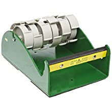 "Nifty Products D56HD Heavy Duty Tabletop Tape Dispenser, 6"" Width, Green"