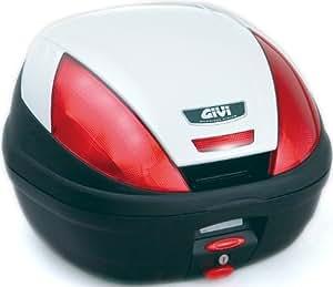 GIVI(ジビ) モノロックケース(トップケース) パールホワイト 39L E370B906D 68047