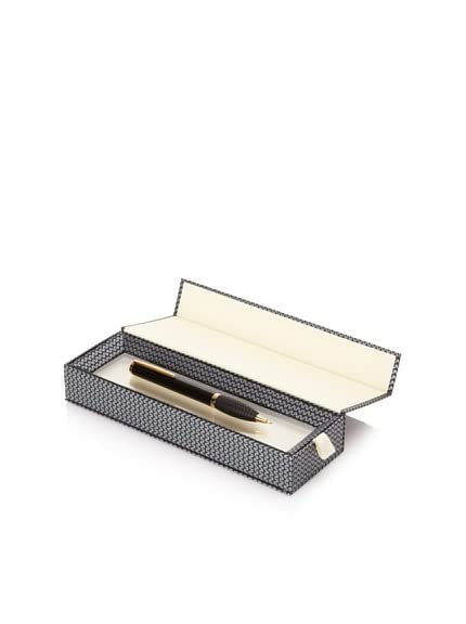 Chopard Accessorie Pencil Racing, Black/Gold Trim, 14.5 cm x 12 mm