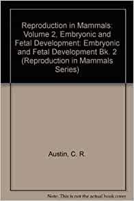 embryonic development in mammals pdf