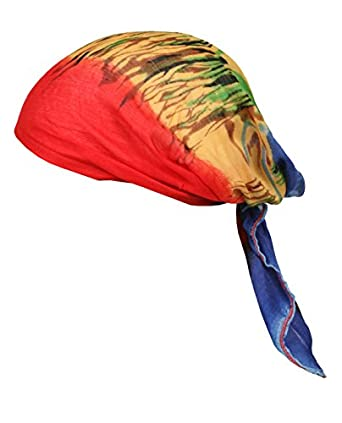 new j garcia artwear pre fitted elastic bandana