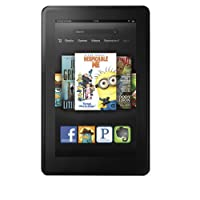 Certified Refurbished Kindle Fire 7″, LCD Display, Wi-Fi, 8 GB – Includes Special Offers