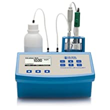 Hanna Instruments HI84442-01 Total Titratable Very Low Alkalinity Titrator, 115V, +/-0.01 pH Accuracy, 0.1 pH/0.01 pH Resolution