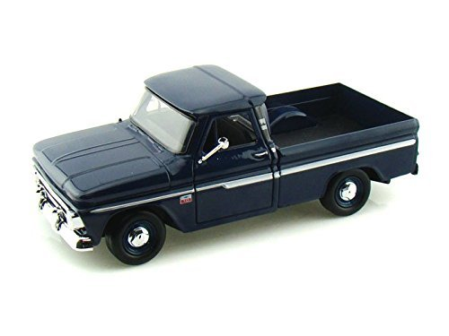 1966 Chevy C10 Fleetside Pickup 1/24 Dark Blue (1966 Chevy Truck compare prices)
