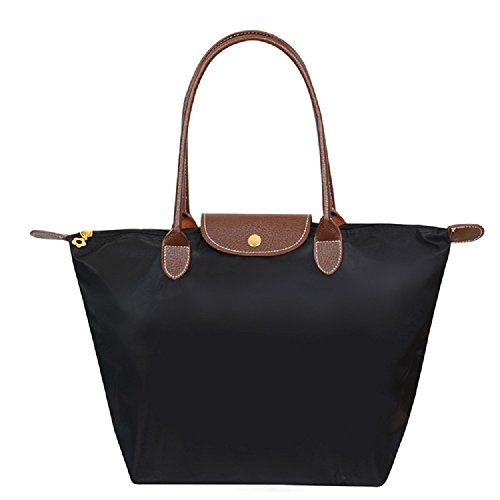 Designer Nylon Waterproof Tote Shoulder Bag in