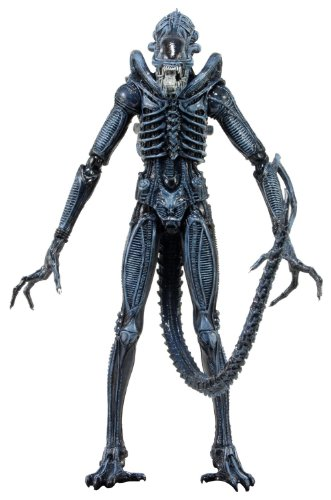 "NECA Series 2 Alien Warrior 7"" Action Figure, Blue"