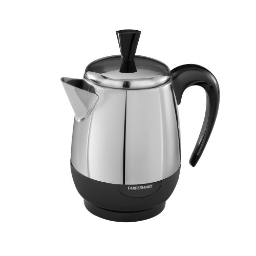 Coffee Maker With Percolator : Percolators Black Decker Farberware 4 Cup Stainless Steel Coffee Maker Tool NEW 632051030028 eBay