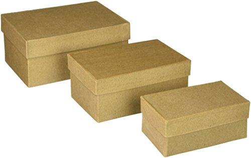 darice-cardboard-paper-mache-rectangle-box-set-4-inch-5-inch-and-6-inch