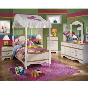 Blossoms Kids Bedroom Set by Signature Design