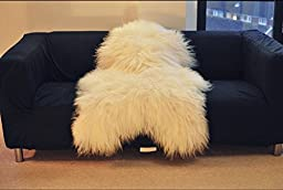 Biggest | Soft and Silky | Icelandic Sheepskin Rug | (L 48"|256|172|?|en|2|747eb1419d0ddfe541e96dc9af095f89|False|UNLIKELY|0.33920300006866455