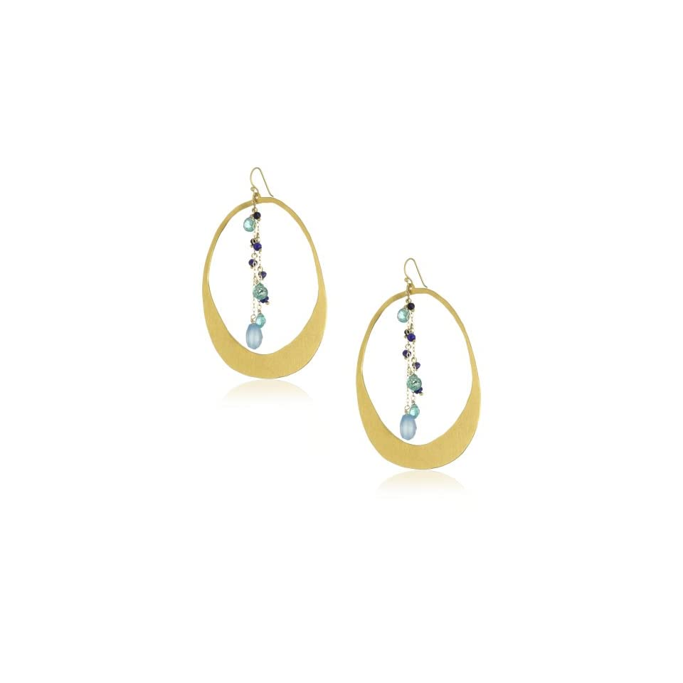 Wendy Mink Amalgam Cutout with Blues Earrings