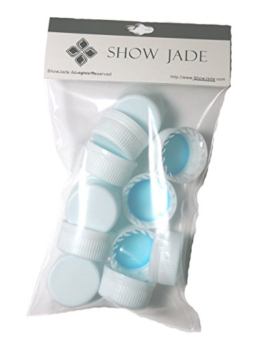 ShowJade® Aquafina 20oz Reseal Caps, Reseal Your Water Bottle Perfectly (12 pc)
