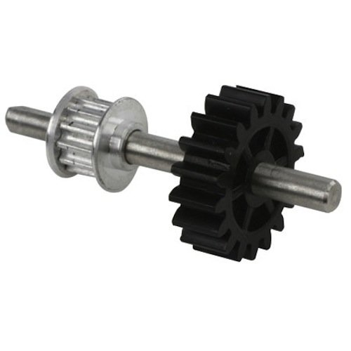 Blade Aluminum Speed-Up Tail Drive Gear/Pulley Assembly - 1