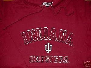INDIANA Embroydered FOOTLOCKER Sweatshirt Hooded LARGE by Foot Locker