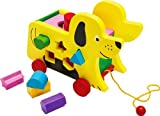 Wooden Pull Along Dog and Wooden Block Shape Sorter - PROMOTION OFFER