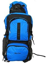 Kuber Industries™ 60 Ltrs Dark Blue Backpack/Rucksack/Travelling Bag/Hiking Bag/Adventure Bag/Camping Bag (Canvas...