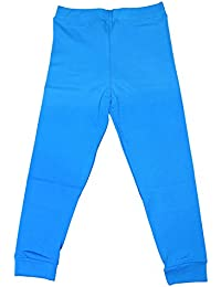 Women's Cotton Lycra Stretchable BLUE CAPRI TIGHT Free Size (Pack Of 1)