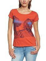 Mexx Camiseta (Naranja)