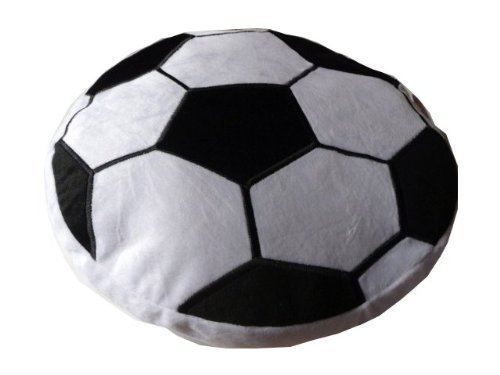 Soccer Ball Plush Pillow by Adventure Planet Sporting Goods Team Sports Balls