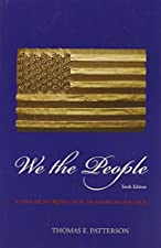 We The People by Thomas Patterson