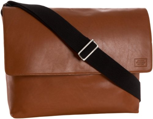 Jack Spade Mill Computer Field Bag Messenger,Tobacco,one size