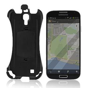 Wicked Chili Halteschale 24966/0 für Samsung Galaxy S4 i9500 i9505 LTE für Vent Mount Lüfteradapter, Bike Mount Fahrrad Halterung und KFZ (Made in Germany)