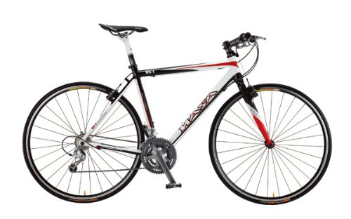 Road Bikes: 2012 HASA Shimano 105 Carbon Flat Bar Road Bike 48cm
