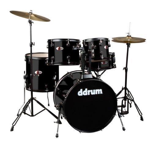 ddrum-d120b-mb-d-series-drum-set-5-piece-complete-black