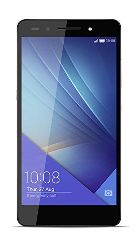 Honor 7 Premium Smartphone (13,2 cm (5,2 Zoll) Touch-Display, 1920 x 1080 pixels, 20 Megapixel, 32 GB interner Speicher, Android 5.0) grau