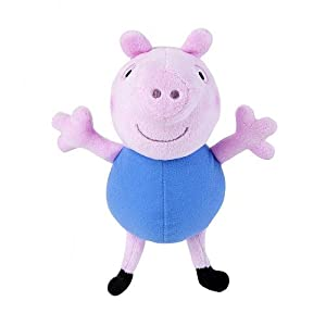 Amazon.com: Fisher-Price Peppa Pig Mini Plush - Everyday George: Toys