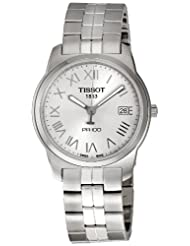 Tissot Men's T049.410.11.033.01 Silver Dial PR 100 Watch