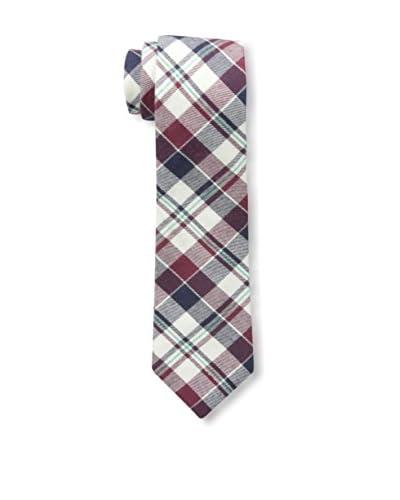 Buffalo Men's Brushed Plaid Tie