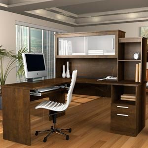 Amazon Sutton L Shaped Desk with Hutch Everything Else