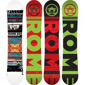 Rome Reverb Rocker Wide Snowboard Mens