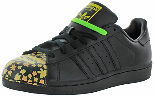 Adidas Superstar Pharrell Williams Supershell Shoes (10, nucleo nero / nero / nero (s83366))