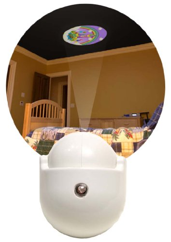 Dream Lite Led Projection Night Light Plug-In Wall Photocell / Castle In The Sky