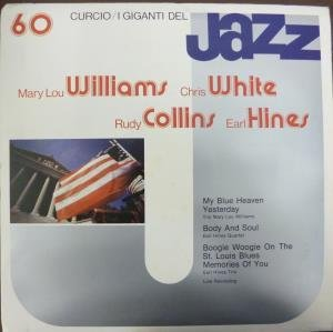I Giganti Del Jazz 60 LP (Vinyl Album) Italian Curcio by Trio Mary Lou Williams/earl Hines Trio And Quartet