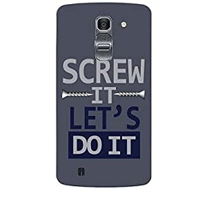 Skin4gadgets SCREW IT LET'S DO IT Phone Skin for LG G PRO 2