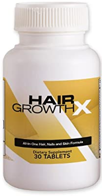 Best Cheap Deal for Hair Growth X All-in-one Hair Nail and Skin Formula Dietary Supplement, 30 Tablets from American E-Commerce Solutions LLC - Free 2 Day Shipping Available