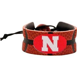 NCAA Nebraska Cornhuskers Classic Basketball Bracelet