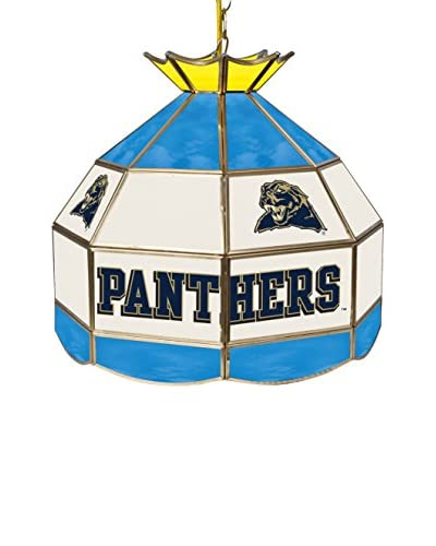 Trademark Global 16 University of Pittsburgh Stained Glass Tiffany-Style Pendant Lamp